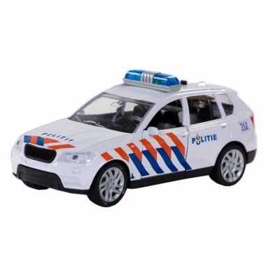 112 speelgoed politieauto met licht en geluid 12 cm