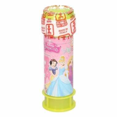 1x bellenblaas disney princess 60 ml speelgoed voor kinderen