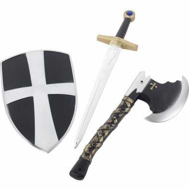 3 delige speelgoed ridderset