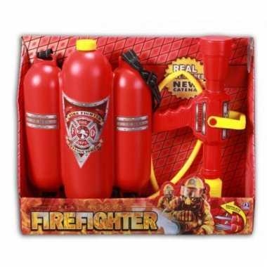 Brandweer spuit speelgoed