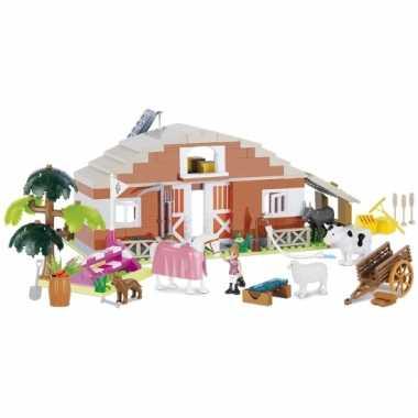 Cobi boerderij speelgoed set