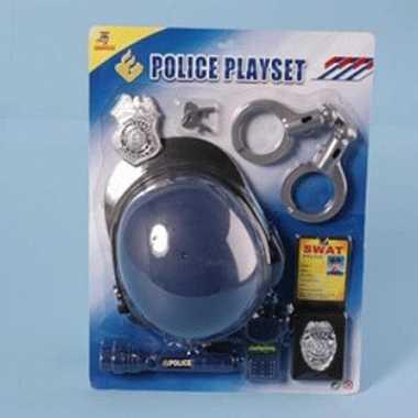 Complete politie speelgoed set