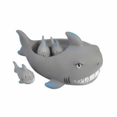 Drijvende haaitjes bad speelgoed