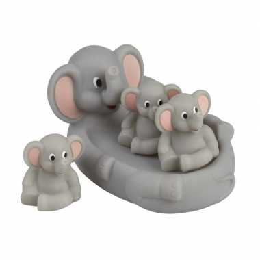 Drijvende olifantjes bad speelgoed