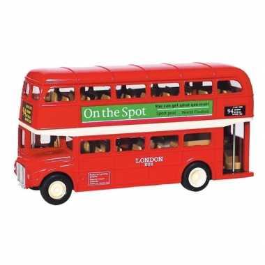 Engelse londen speelgoed bus routemaster 12 cm