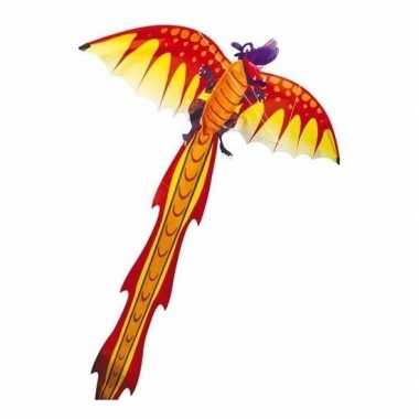 Gekleurd speelgoed vliegertje draak