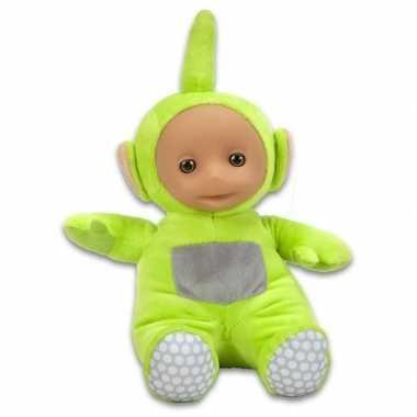 Groene teletubbies dipsy speelgoed knuffel/pop 26 cm