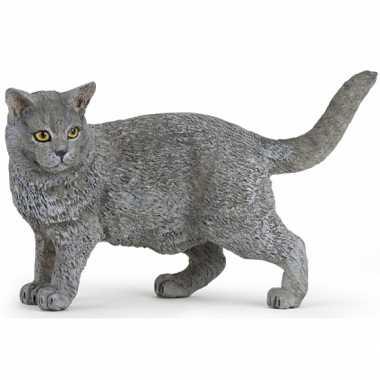 Huisdier kat speelgoed dier 4,4,5 cm