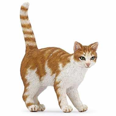 Huisdier kat speelgoed dier 5 cm