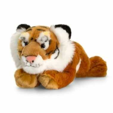 Keel toys pluche tijger knuffel 33 cm speelgoed