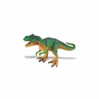 Kinder speelgoed figuurtyrannosaurus rex van plastic 18 cm