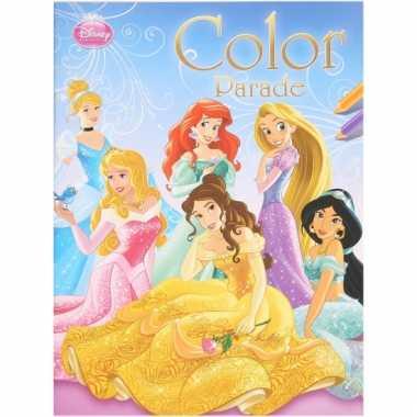 Kinderspeelgoed disney prinses kleurboek