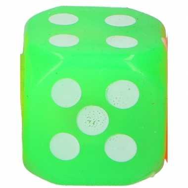 Kinderspeelgoed dobbelsteen groen led