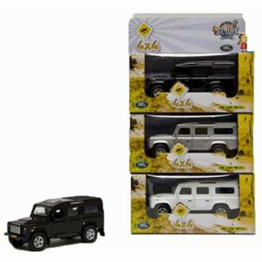 Kinderspeelgoed land rover auto wit 20 cm