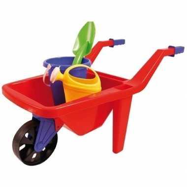 Kruiwagen buitenspeelgoed setje voor kinderen 65 cm