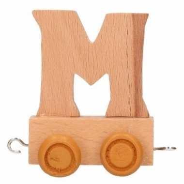 Letter speelgoed letter m