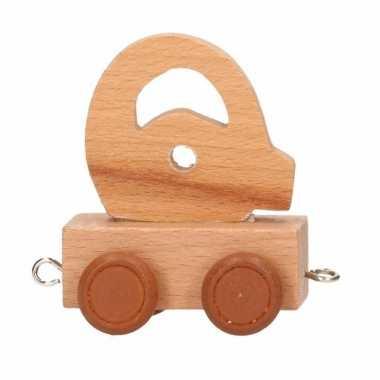 Letter speelgoed treintje q