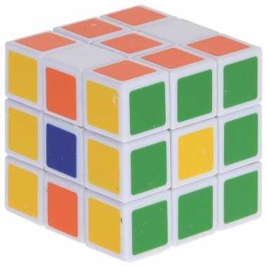 Magische kubus puzzel spelletje 3 5 cm speelgoed