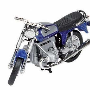 Model speelgoed motor bmw r75 blauw 1 18