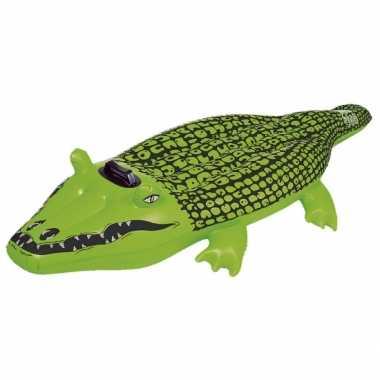 Opblaas speelgoed krokodil 165 cm