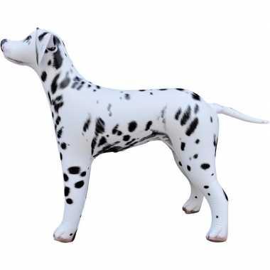 Opblaasbare dalmatier hond 75 cm decoratie speelgoed