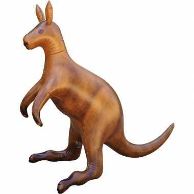 Opblaasbare kangoeroe 75 cm decoratie speelgoed
