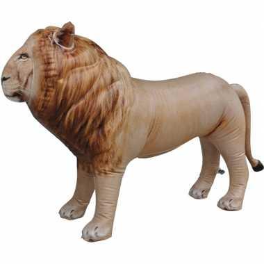 Opblaasbare leeuw 60 cm decoratie speelgoed