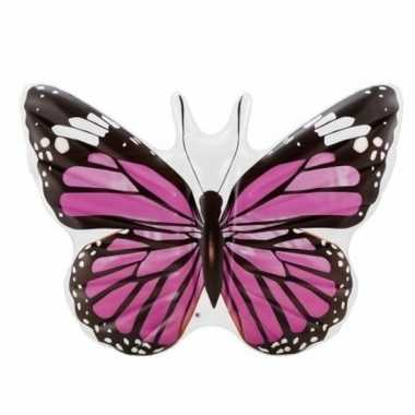 Opblaasbare vlinder 191 cm luchtbed ride on speelgoed
