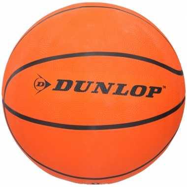 Oranje speelgoed basketbal 30 cm maat 7 kinderen volwassenen 10195076