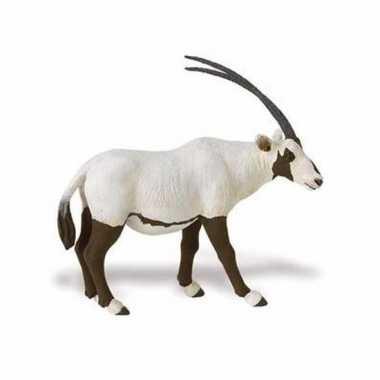 Plastic speelgoed figuur arabische oryx antilope 11 cm