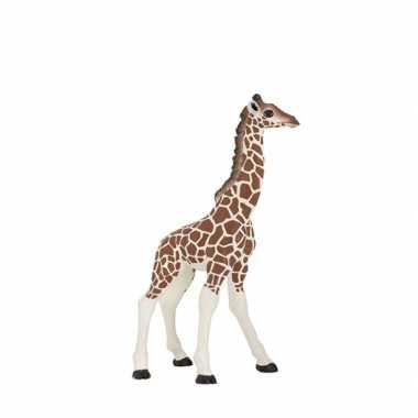 Plastic speelgoed figuur baby giraffe 9 cm
