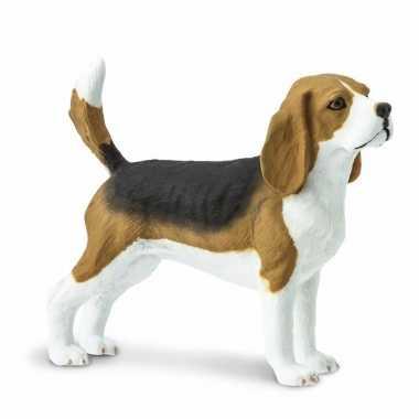 Plastic speelgoed figuur beagle hond 6 cm