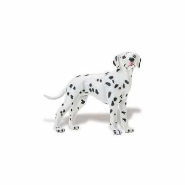 Plastic speelgoed figuur dalmatier hond 9 cm