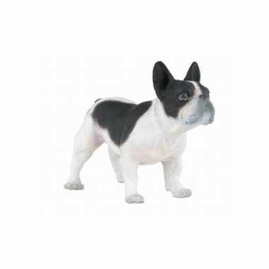 Plastic speelgoed figuur franse bulldog 7 cm
