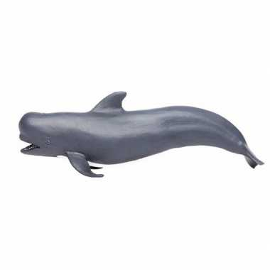 Plastic speelgoed figuur griend walvis 14 cm