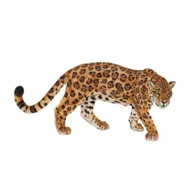 Plastic speelgoed figuur jaguar 11 cm