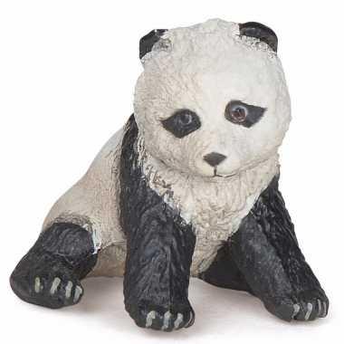 Plastic speelgoed figuur panda baby 6 cm