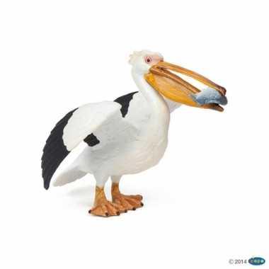 Plastic speelgoed figuur pelikaan 11 cm