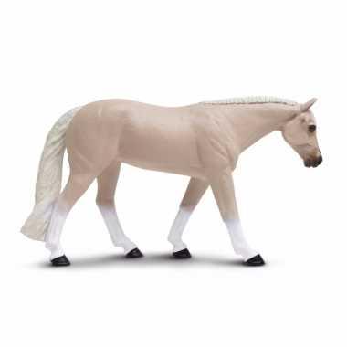 Plastic speelgoed figuur quarter paard merrie 13 cm