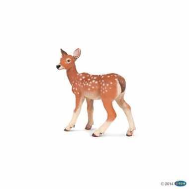 Plastic speelgoed figuur ree hertje 6 cm