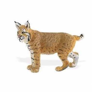 Plastic speelgoed figuur rode lynx 7 cm