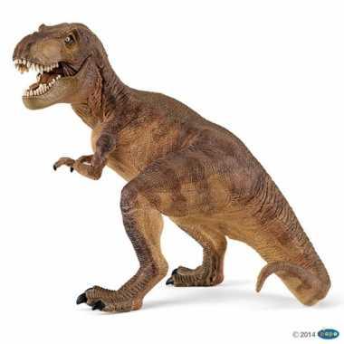 Plastic speelgoed figuur t-rex dinosaurus 17 cm