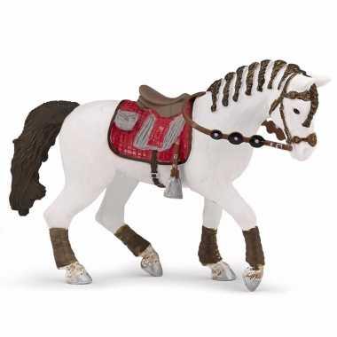 Plastic speelgoed figuur trendy paard 14.5 cm