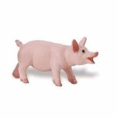 Plastic speelgoed figuur varken/big 6 cm