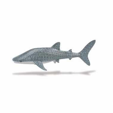 Plastic speelgoed figuur walvishaai 24 cm