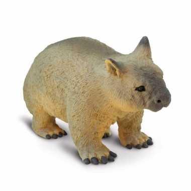 Plastic speelgoed figuur wombat 6 cm