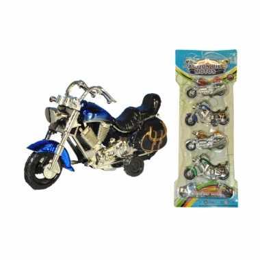 Plastic speelgoed motoren 4 stuks