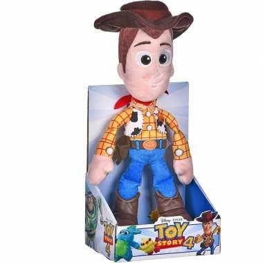 Pluche disney toy story woody knuffel 25 cm speelgoed