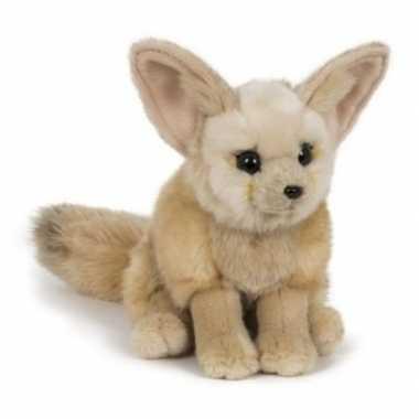 Pluche fennek woestijnvos knuffel 23 cm speelgoed