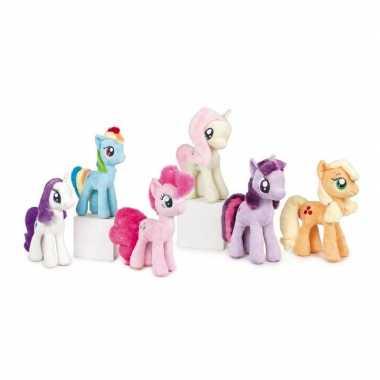 Pluche gele my little pony fluttershy knuffel 30 cm speelgoed